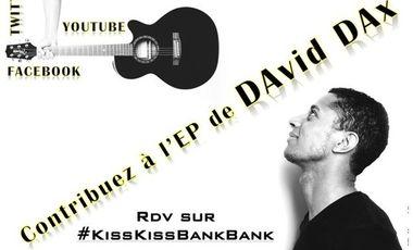 Visueel van project 1er EP de DAvid DAx