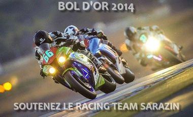 Visueel van project Bol d'or 2014 : soutenez le team Sarazin