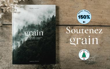 Visuel du projet Grain, la revue des nouveaux champs des possibles