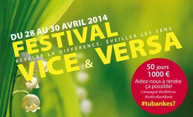 Visueel van project Festival Vice&Versa 2014