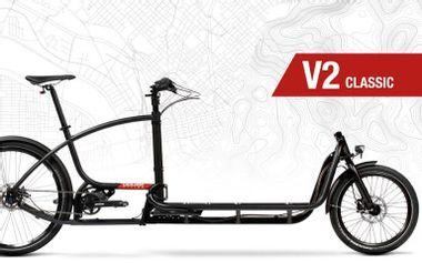 Project visual Vélo Cargo en Avignon