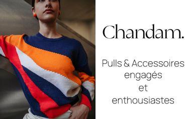 Project visual Chandam. Pulls engagés et enthousiastes en laine mérinos française