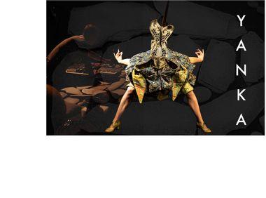 Project visual YANKA, création de danse, musique, masque & marionnette