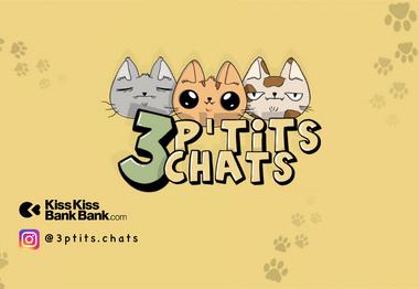 Project visual 3 P'tits Chats