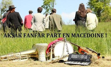 Visuel du projet Aksak Fanfar part en Macédoine !