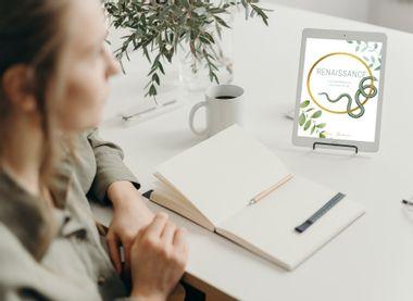 """Visuel du projet """"Renaissance - Les essentiels pour réinventer sa vie"""" : Mon 1er livre !"""