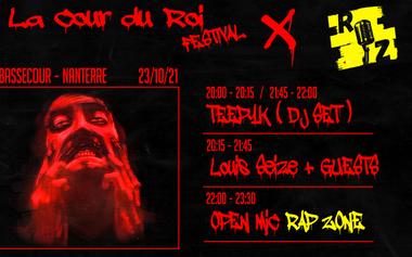Visueel van project FESTIVAL LA COUR DU ROI, concert à La Bassecour, Nanterre.