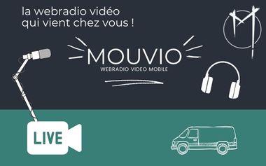 Project visual MOUVIO webradio Vidéo Mobile