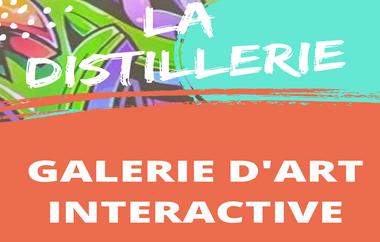 """Visuel du projet """"La Distillerie"""" Galerie d'Art Interactive"""