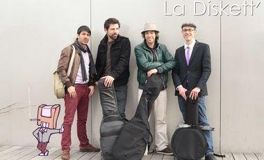 Visuel du projet 2eme album de La Diskett' & Release Party @Le Zèbre de Belleville