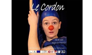 Visueel van project Le Cordon, solo de clowne au tissu aérien