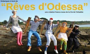 "Visueel van project ""Rêves d'Odessa"" - une création franco-russe"