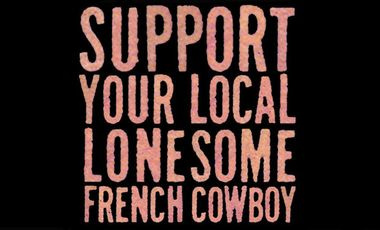 Project visual Lonesome French Cowboy et Renaud Monfourny (photographe des Inrockuptibles)