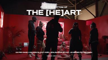 """Project visual """"THE BOTTOM OF THE (He)ART : Je suis réalisateurs.trices de clips"""""""