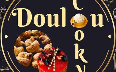 Project visual Livre de recettes :« Les bases de la boulangerie avec Doulou Cooky»