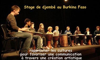 Visueel van project STAGE DE PERCUSSIONS AFRICAINES AU BURKINA FASO