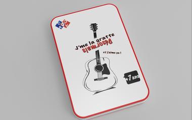 Project visual J'ME LA GRATTE, l'outil d'apprentissage de la guitare qui te fait gagner !