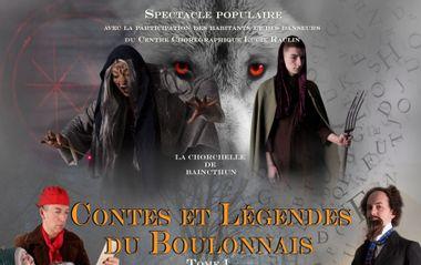 Project visual Spectacle : Contes et légendes du Boulonnais - Partie 1