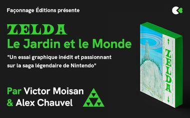 Project visual ZELDA : LE JARDIN ET LE MONDE