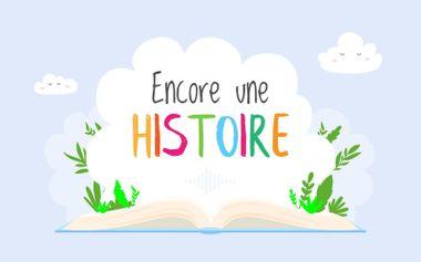 Project visual La Cité d'Angèle, Camion poubelle magique: livres du podcast Encore une histoire