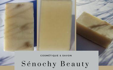 Project visual Un coup de pousse pour lancement d'une marque Sénochy Beauty
