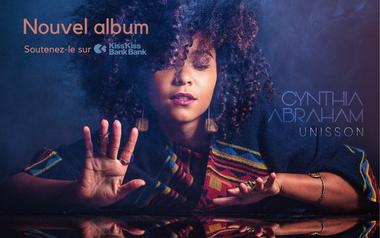 Visuel du projet UNISSON, le nouvel album de Cynthia Abraham
