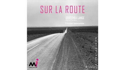 """Visuel du projet Catalogue d'exposition """"Sur la route"""""""