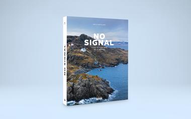 Visuel du projet Précommandez No Signal, le nouveau livre de Brice Portolano