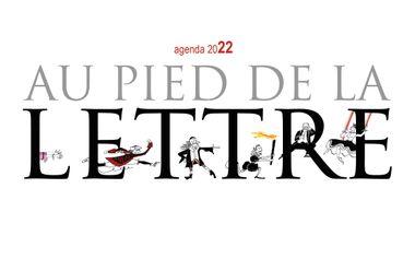"""Visuel du projet Agenda 2022 """"Au pied de la lettre"""""""