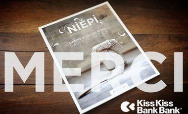 Visueel van project NIEPI . magazine cuisine et art de vivre SANS GLUTEN