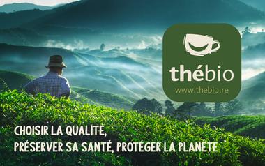Project visual THEBIO.RE - Thés & tisanes biologiques, La Réunion (974)