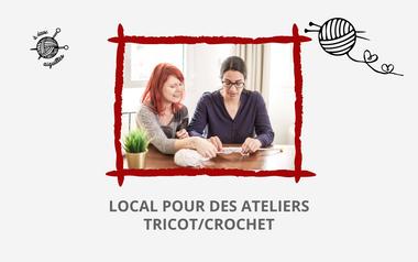Project visual A DEUX AIGUILLES : ateliers tricot/crochet, cours collectif/particulier, Pessac