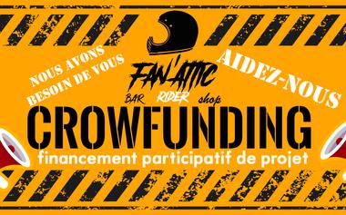 Visuel du projet Fan' Attic Rider Bar Shop, équipements, musiques, motos, potos, apéros