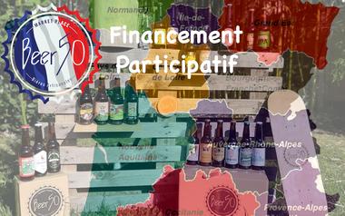 Visuel du projet Beer50 Bières Artisanales Françaises