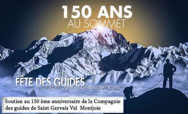 Visueel van project Soutien au 150 ème anniversaire de la Compagnie des Guides de Saint Gervais Val Montjoie