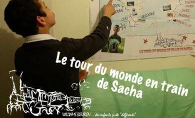 Visuel du projet Le tour du monde en train de Sacha