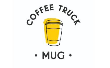 Project visual Mug Coffee Truck, le café de spécialité ambulant.