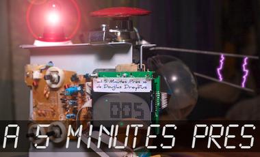 """Project visual """"À 5 Minutes Près"""" - Court Métrage"""