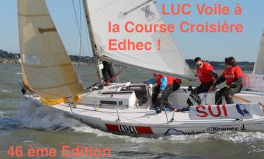 Project visual LUC Voile - Course Croisière Edhec