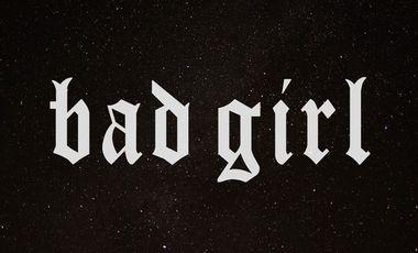 Visuel du projet BAD GIRL