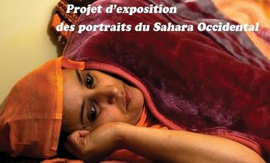 Project visual Exposition des résistants au Sahara Occidental