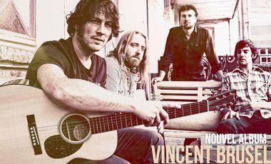 Visueel van project Vincent Brusel-deuxième album