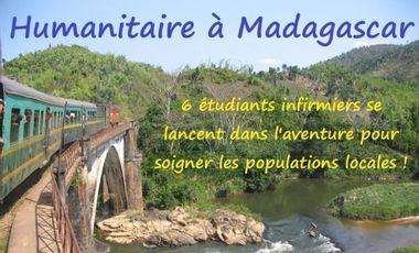 Project visual Humanitaire à Madagascar : 6 étudiants infirmiers se lancent dans l'aventure !