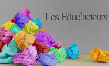 Visuel du projet Troupe de théâtre Educ'Acteurs. Créons ce projet ensemble !