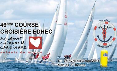 Visueel van project Medesea - Course Croisière Edhec - Mécénat Chirurgie Cardiaque