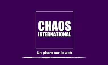 Project visual Chaos International, un phare sur le web