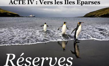 Visueel van project RÉSERVES, acte IV : Vers les ÎLES ÉPARSES