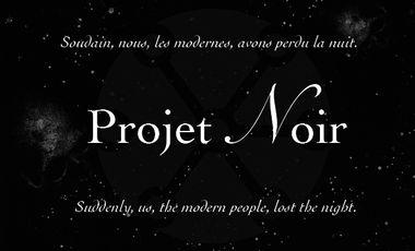 Visueel van project Projet Noir