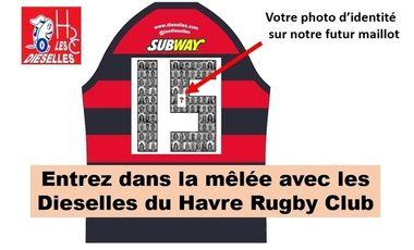 Project visual Entrez dans la mêlée avec les Dieselles du Havre Rugby Club