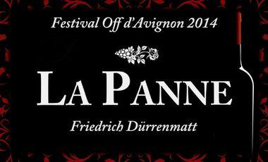 Visueel van project La Panne de Friedrich Dürrenmatt Festival Off Avignon 2014